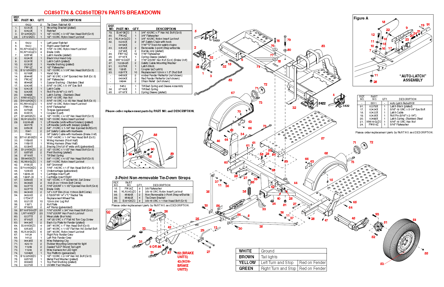 car dolly wiring diagram