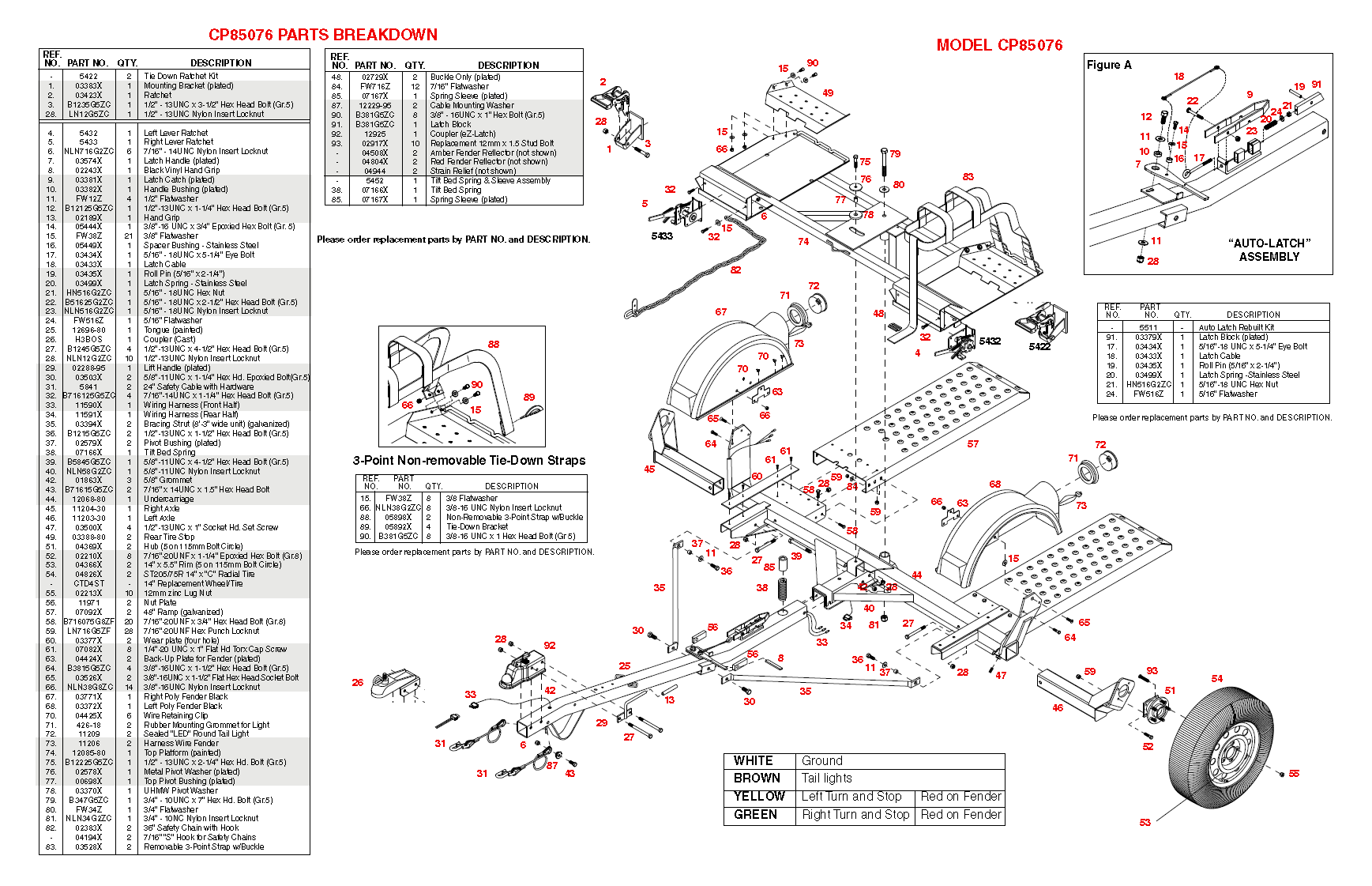 Master Tow Wiring Diagram Library Trailer Towing Torsion Axle Dolly Croft Supply Spec Sheet