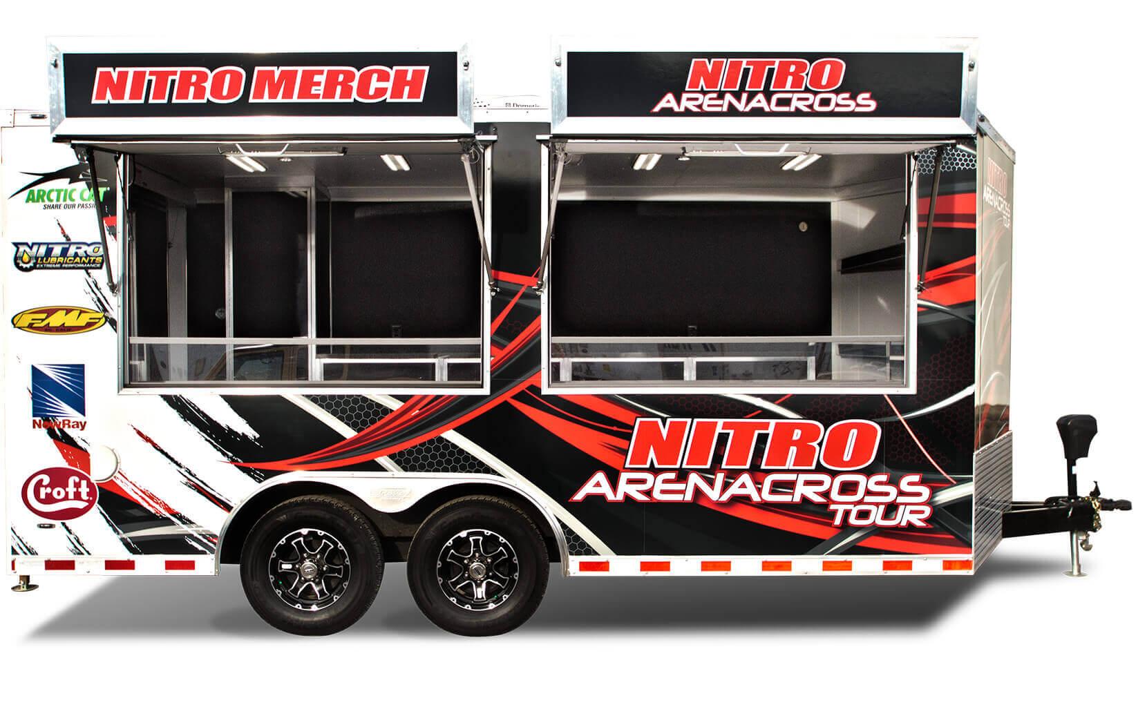 Nitro Arenacross Trailer
