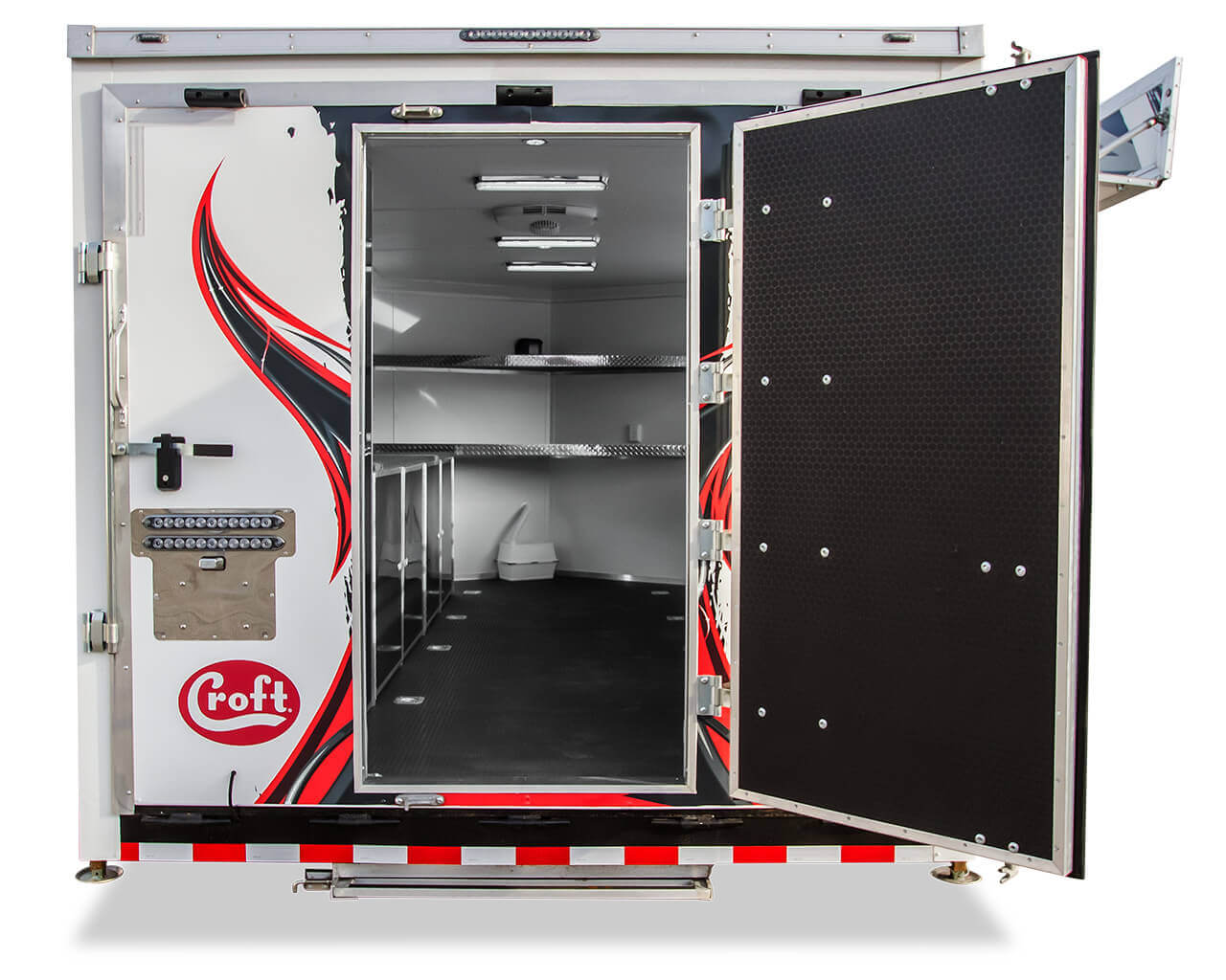 Nitro Arenacross Trailer with Croft Trailer Supply